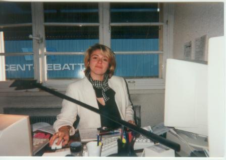 Nathalie au bureau chez Axone