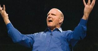 Steve Ballmer classics : pub pour Windows 1 !
