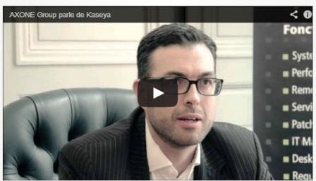 Développement d'AXONE Group : interview d'Enguerrand de Carvalho