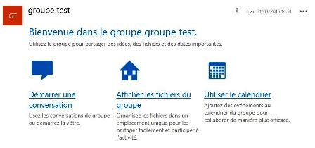 Microsoft Office 365 Groups : génial !