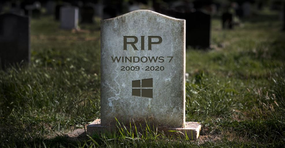 Windows 7 RIP