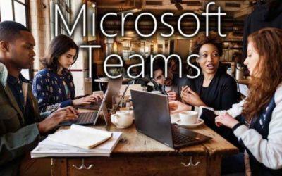 Microsoft Teams: Un travail d'équipe!